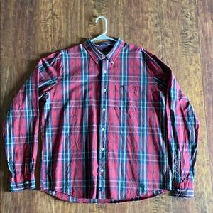 Abercrombie & Fitch plaid button down shirt